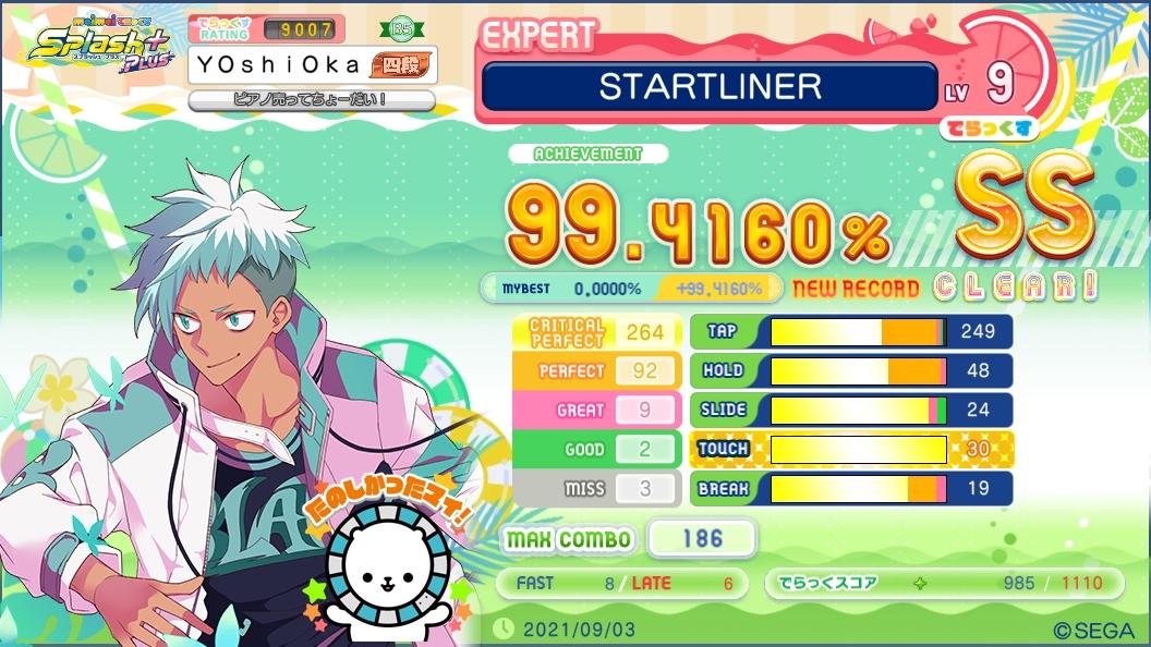 STARTLINER (EXPERT) SS